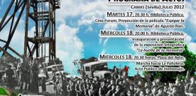 DIVERSOS ACTOS EN CAMAS EN CONMEMORACIÓN DEL 76 ANIVERSARIO DE LA MASACRE DE LA COLUMNA MINERA