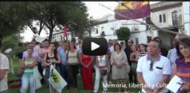 VIDEO.- ACTOS DE LA CONMEMORACIÓN DEL 75 ANIVERSARIO DE LA COLUMNA MINERA DE RIOTINTO