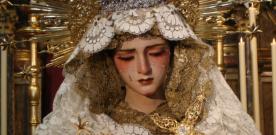 La procesión de la Virgen de los Dolores y los fuegos artificiales ponen fin a la feria de Camas 2012