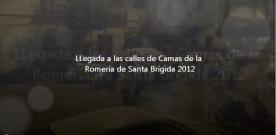Video.- LLegada por las calles de Camas de la Romería de Santa Brígida