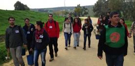 Esta mañana ha comenzado la campaña de reforestación del Cerro de Santa Brígida en Camas