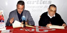El Ayuntamiento de Camas firma un convenio de colaboración con Cáritas Diocesana