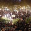 Miles de mujeres, convocadas por grupos feministas, arrancan en Sevilla las protestas contra las políticas de Vox